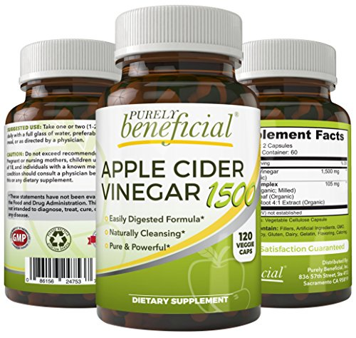 Vinagre de manzana para adelgazar en capsulas de vitamina