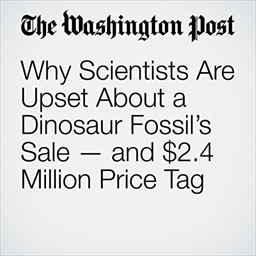 Why Scientists Are Upset About a Dinosaur Fossil's Sale — and $2.4 Million Price Tag audiobook cover art