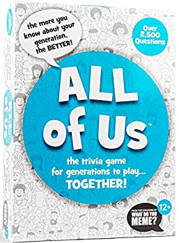 All of Us - The Family Trivia Game for All Generations - Gen Z Gen Y Gen X & Baby Boomers - by What Do You Meme?