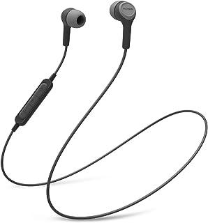 Koss BT115i ワイヤレス Bluetooth イヤホン インラインマイク ボリュームコントロール タッチリモコン 防汗 ダークグレー ブラック