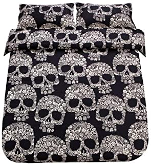 Best sugar skull bedding king Reviews