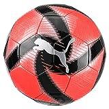 PUMA Future Flare Ball Ballon De Foot Mixte Adulte, NRGY Red-Asphalt Black White, 5
