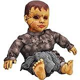 Joyin Sound Activated Haunted Doll, Halloween Baby Doll for Halloween Decorations and Halloween Accessories