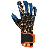 Reusch Pure Contact 3 G3 Fusion - Guantes de Portero para Hombre, Color Azul, Verde y Azul, Talla 12