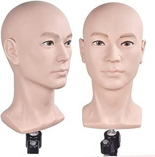 Male Mannequin Head Hat Display Wig Training Head Model Head Model