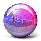 Pyramid Path Bowling Ball (Pink/Purple/Silver, 8 LB)