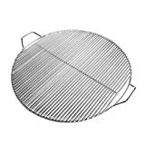 Grill Factory - Round Stainless Steel BBQ Accessories for Camping Cooking Grill Grate for Replacement of Weber Smokey Joe parts for weber grill spirit Wood smoker accessories for smoker - 14.7 inch