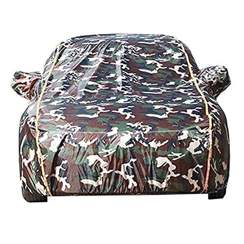 vollgarage abdeckung Hagelschutzplane Vollauto-Cover Kompatibel mit Volkswagen Golf 7 Golf 8   Wasserdichte Regensonne im Freien UV. Schutz mit Reißverschlussauto-Plane ( Color : C , Size : Golf 8 )