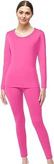 Womens Ultra Soft Microfiber Fleece Thermal Underwear Long Johns