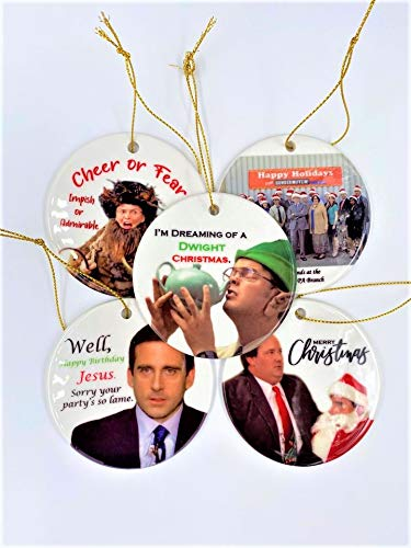 The Office Ornaments