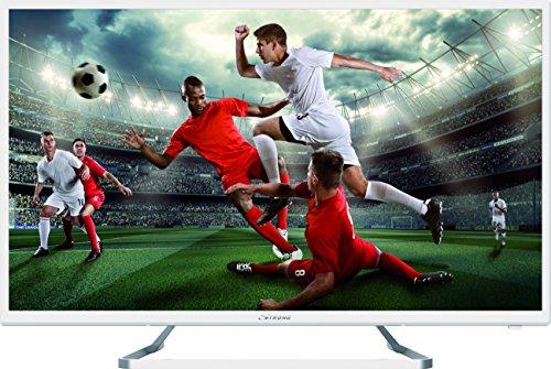 "STRONG SRT 32HZ4013NW Téléviseur HD LED TV 32"", 80cm (HDTV, 2xHDMI, USB, SCART, PC VGA, DVBC/S2/T2) Blanc"