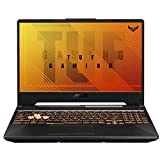 "ASUS TUF Gaming A15 Gaming Laptop, 15.6"" 144Hz FHD IPS-Type, AMD Ryzen 5 4600H, GeForce GTX 1650, 8GB DDR4, 512GB PCIe SSD, Gigabit Wi-Fi 5, Windows 10 Home, FA506IH-AS53"