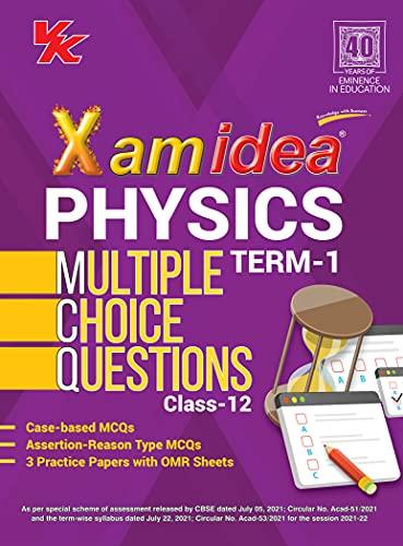 Xam Idea Physics MCQs CBSE Class 12 Book (Term I)...