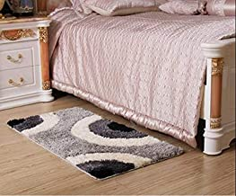 Fast Deal Polyester Anti-Slip Shaggy Door Mat|Bath Mat for Your Home, Kitchen, Bathroom and Door Enterance (16x24 Inches, ...