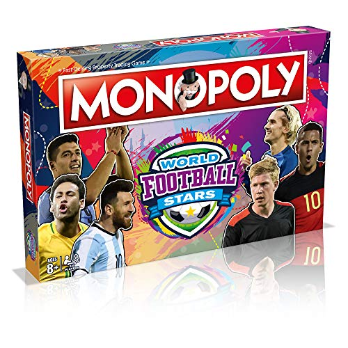 World Football Stars Monopoly Board Game
