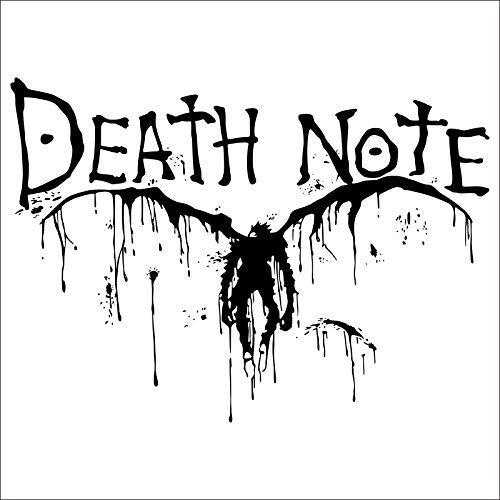Death Note Auto Aufkleber Wand Fans Cartoon Vinyl Wandtattoo 58X80cm