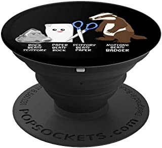 Kids Nothing Beats Badger Animal Clothing Apparel Gift Women PopSockets Grip and Stand for Phones and Tablets