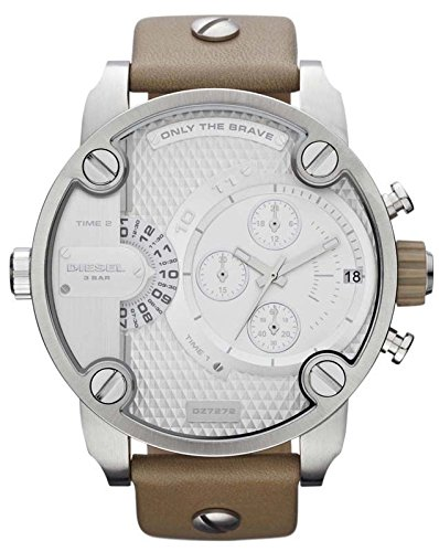 Diesel Chronograph with Date Leather Men