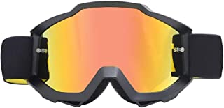 Sunglasses Fashion Accessories Off-Road Motorcycle Goggles Goggles Film Anti-Wind Riding Goggles to Protect Eyes (Color : Orange)