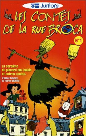 Les Contes de la rue Broca et de la folie Méricourt - Vol.1 : La Sorcière du placard aux balais et autres contes [VHS]