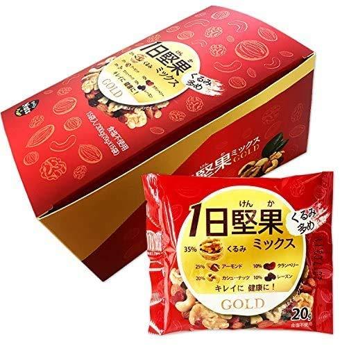 1日健美堅果 ミックス ゴールド[15袋]◆6箱+1箱おまけ 計7箱セット