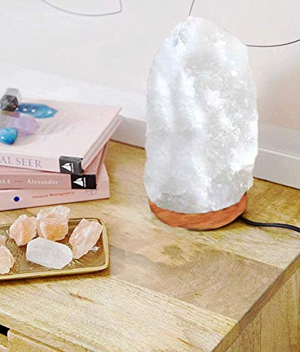 Healing IONES Therapeutic Natural Himalayan Pink/Orange Crystal Rock Salt lamp (Pack of...