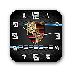 mV Luxury Super car 11'' Handmade Wall Clock - Get Unique décor for Home or Office – Best Gift Ideas for Kids, Friends, Parents and Your Soul Mates