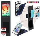 Hülle für Alcatel A50 Tasche Cover Case Bumper | Blau |