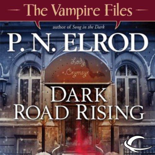 Dark Road Rising audiobook cover art