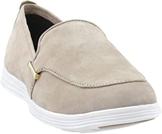 Cole Haan Womens Ella Venetian Slip On Shoe Casual Flats Shoes, Beige, 9