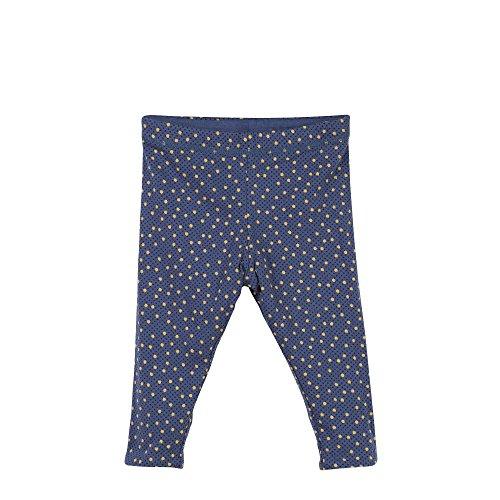Catimini Legging Revers, Bleu (Bleu Grise), 1 an (Taille Fabricant: 12M) Bébé Fille