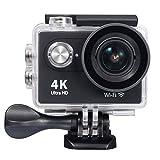 Raynic Ultra HD 4K WiFi Sport Action Kamera Wasserdichter DV Camcorder 12MP 170 Grad Weitwinkel