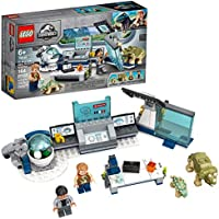 164-Pieces LEGO Jurassic World Dr. Wu's Lab Baby Dinosaurs Breakout Building Kit