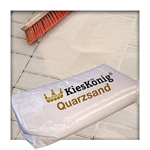 25 kg Quarzsand 0,1 - 0,4 mm für Industrie und Handwerk