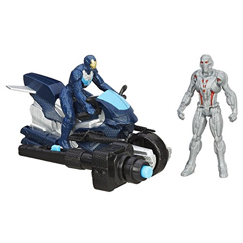 Marvel Avengers Age Of Ultron Ultimate Ultron vs Iron Leader Iron Man Figures
