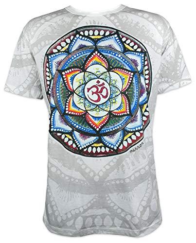 Spiegel mannen ́s T-Shirt Om Mandala Boeddha Yoga