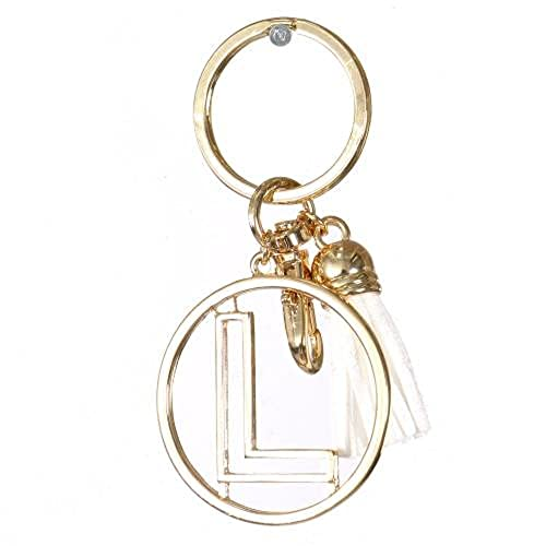 Keychains Letter L: Amazon com