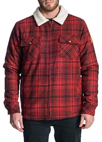 Rip Curl Herren Jacke Loggers Jacket, Größe:M, Farben:red
