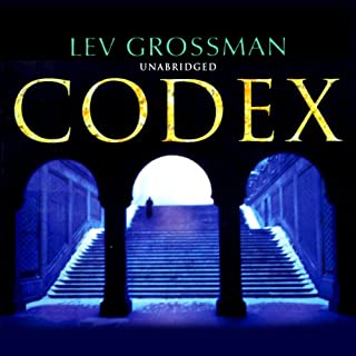 Codex                   By:                                                                                                                                 Lev Grossman                               Narrated by:                                                                                                                                 Jeff Harding                      Length: 11 hrs and 12 mins     5 ratings     Overall 4.0