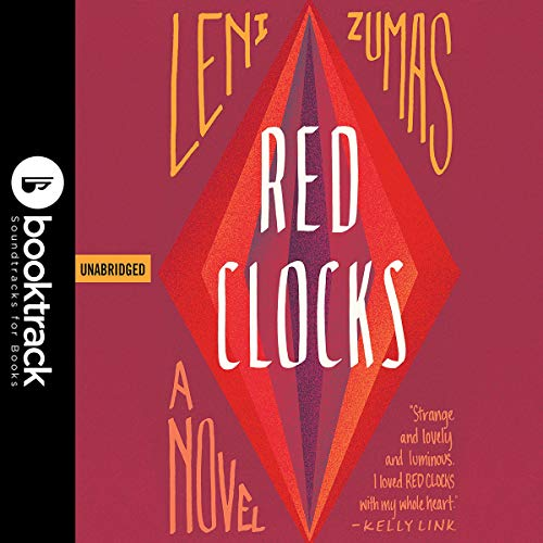 Red Clocks audiobook cover art