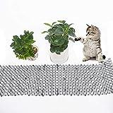 Tiervertreiber Katzenabwehr Marderschutz Katzenschreck Tierschreck, Katzen Tierabwehr Scat Spike Matte Marder Hunde Spikes zum Gärten, Höfe, und Pflanzer 1.8cm x12cm x 200CM