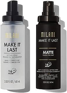 Milani Setting Spray Long Lasting & Charcoal Matte