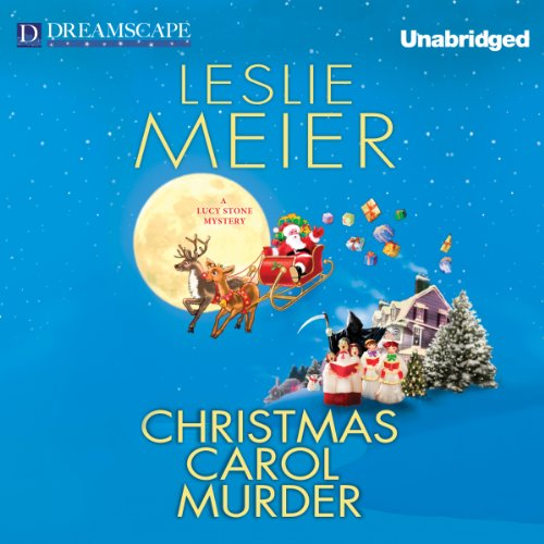 Christmas Carol Murder audiobook cover art