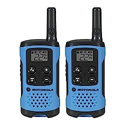 1.Motorola T100 Talkabout Radio, 2 Pack