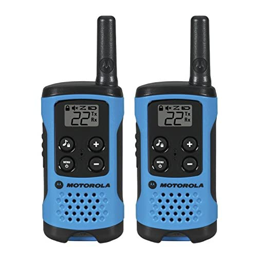 Motorola T100 Talkabout Radio, 2 Pack 3