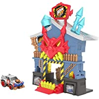 Boom City Racers Fireworks Factory 3 in 1 Transforming Playset