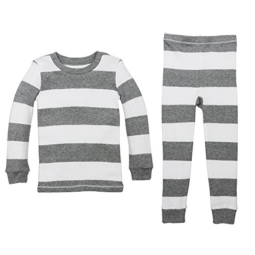 Burt's Bees Baby Pajamas, Tee and Pant 2-Piece Pj Set, 100% Organic Cotton (12 Mo-7 Yrs)