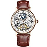 Diollo Present KINYUED Tourbillon Mechanical Movement Watches Men Luxury Brand Automatic Luxury Watch