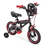 Huffy Star Wars Boys Bike with Training Wheels, Red/Black