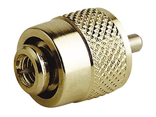 RA132SOLDERLESS Vergoldeter PL259-Stecker zur lötfreien Verbindung